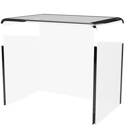 Miraculous Mercury Row Channing Plasticacrylic Writing Desk Pdpeps Interior Chair Design Pdpepsorg