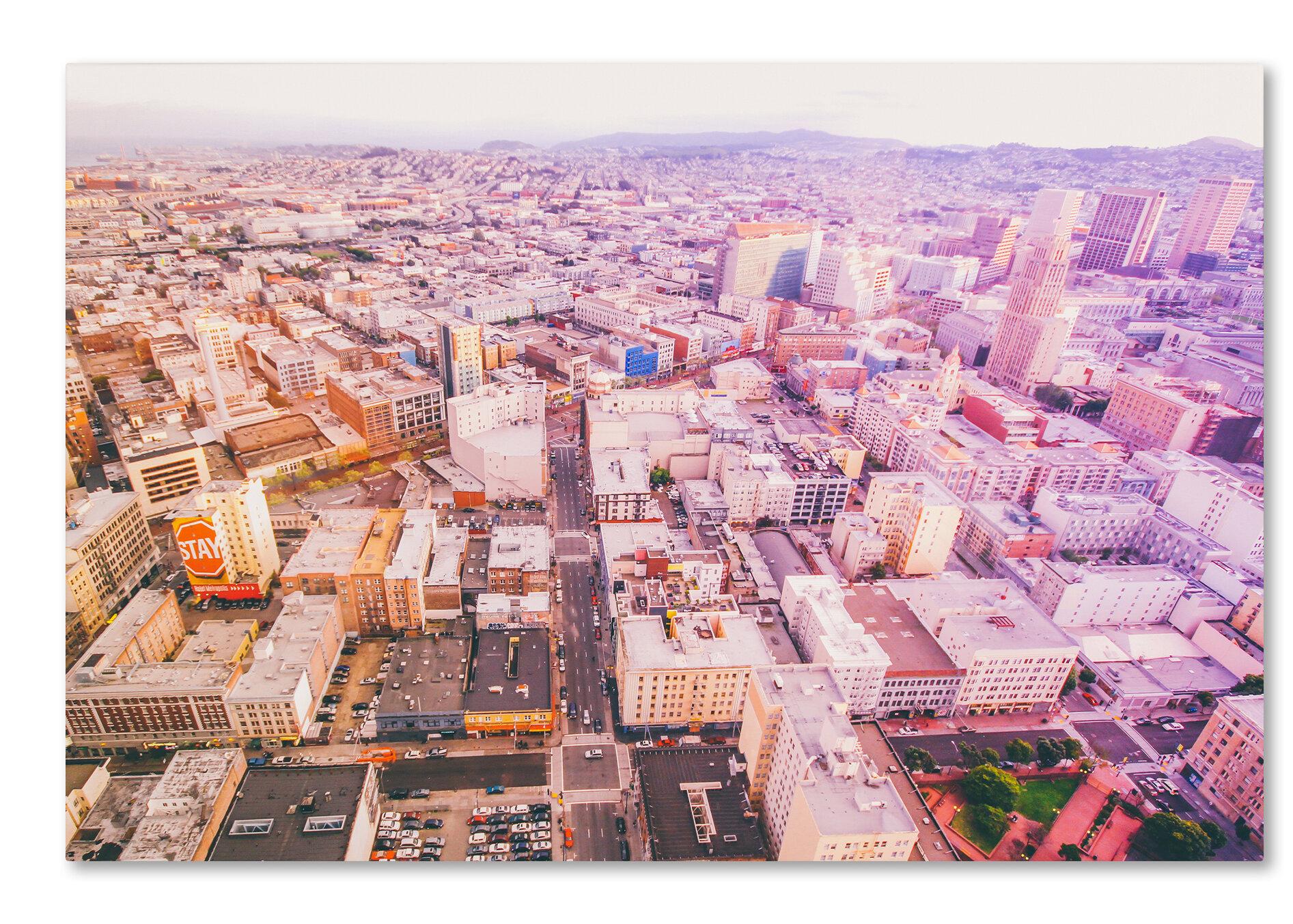 Trademark Art Downtown San Francisco By Ariane Moshayedi