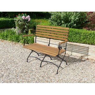 Tascherau Solid Wood And Steel Bench By Sol 72 Outdoor