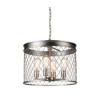 CWI Lighting Kaliga 4-Light Drum Chandelier