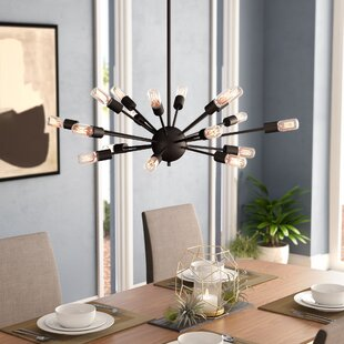 Langley Street Weiss 18-Light Chandelier