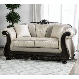 Renda Rolled Arms Loveseat