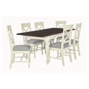 Orlo Extendable Dining Set With 6 Chairs (Set Of 7) By August Grove
