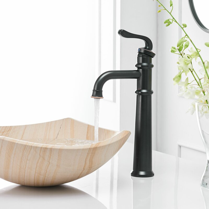 Vibrantbath Vessel Sink Bathroom Faucet With Drain Assembly Reviews Wayfair