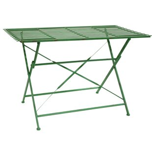 Trujillo Slotted Folding Bistro Table