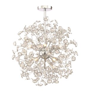 Everly Quinn Prasoon 10-Light Globe Chandelier