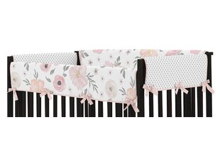Top Reviews Watercolor Floral Crib Rail Guard Cover BySweet Jojo Designs