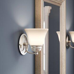 Poneto 1-Light LED Bath Sconce by Charlton Home