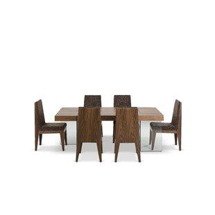 Corrigan Studio Colyt Solid Wood Dining Table Wayfair