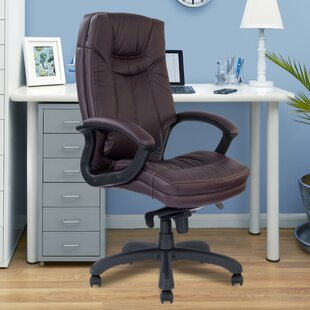 High-Back Executive Chair With Lumbar Support By Brayden Studio
