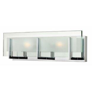 Buy clear Frances 2-Light Bath Bar By Wade Logan