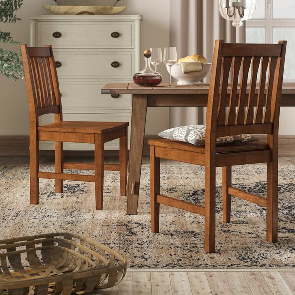 Medium Oak Dining Chairs | Wayfair