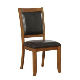 Leigh Woods Upholstered Dining Chair (Set of 2) by Alcott Hill