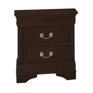 Newport 2 Drawer Nightstand by Charlton Home