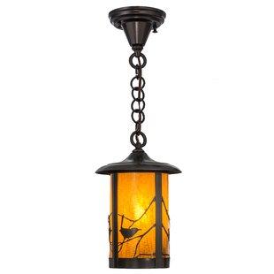 Meyda Tiffany Fulton Song Bird 1-Light Lantern Pendant