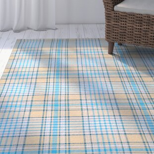 Searching for Bonifay Hand-Woven Blue/Yellow Area Rug By Breakwater Bay