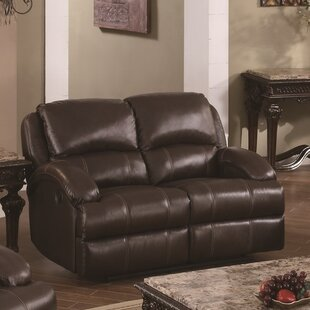 Elwin Recliner Reclining Loveseat by Red ..