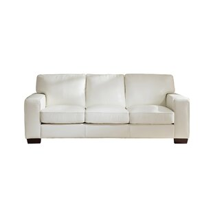 Van Nest Craft Leather Sofa by Latitude Run