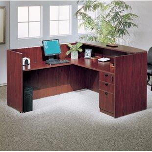 Symple Stuff 3 Piece L-Shape Desk Office Suite