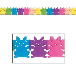 Bunny Plastic Disposable Banner