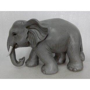 Silver Elephant Statue   Wayfair
