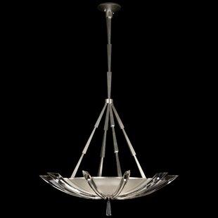 Fine Art Lamps Vol de Cristal 3-Light Bowl Pendant