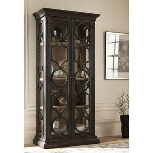 One Allium Way Aryanna Single Curio Cabinet
