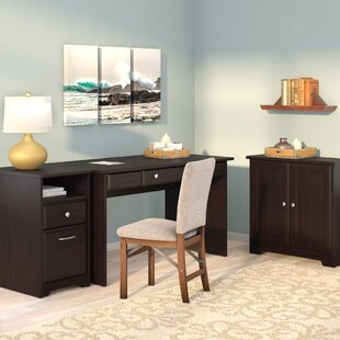 Red Barrel Studio Hillsdale 3-Piece Standard Desk Office Suite