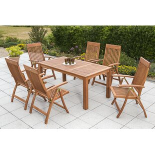 Wickstrom 6 Seater Dining Set By Sol 72 Outdoor