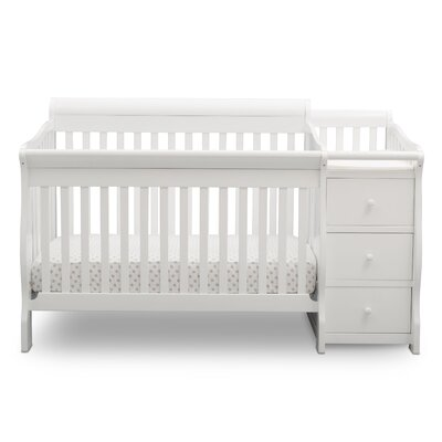 Princeton Junction 4 In 1 Convertible Crib And Changer Combo