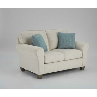 Kaylin Rolled Arm Loveseat by Alcott Hill Top Reviews