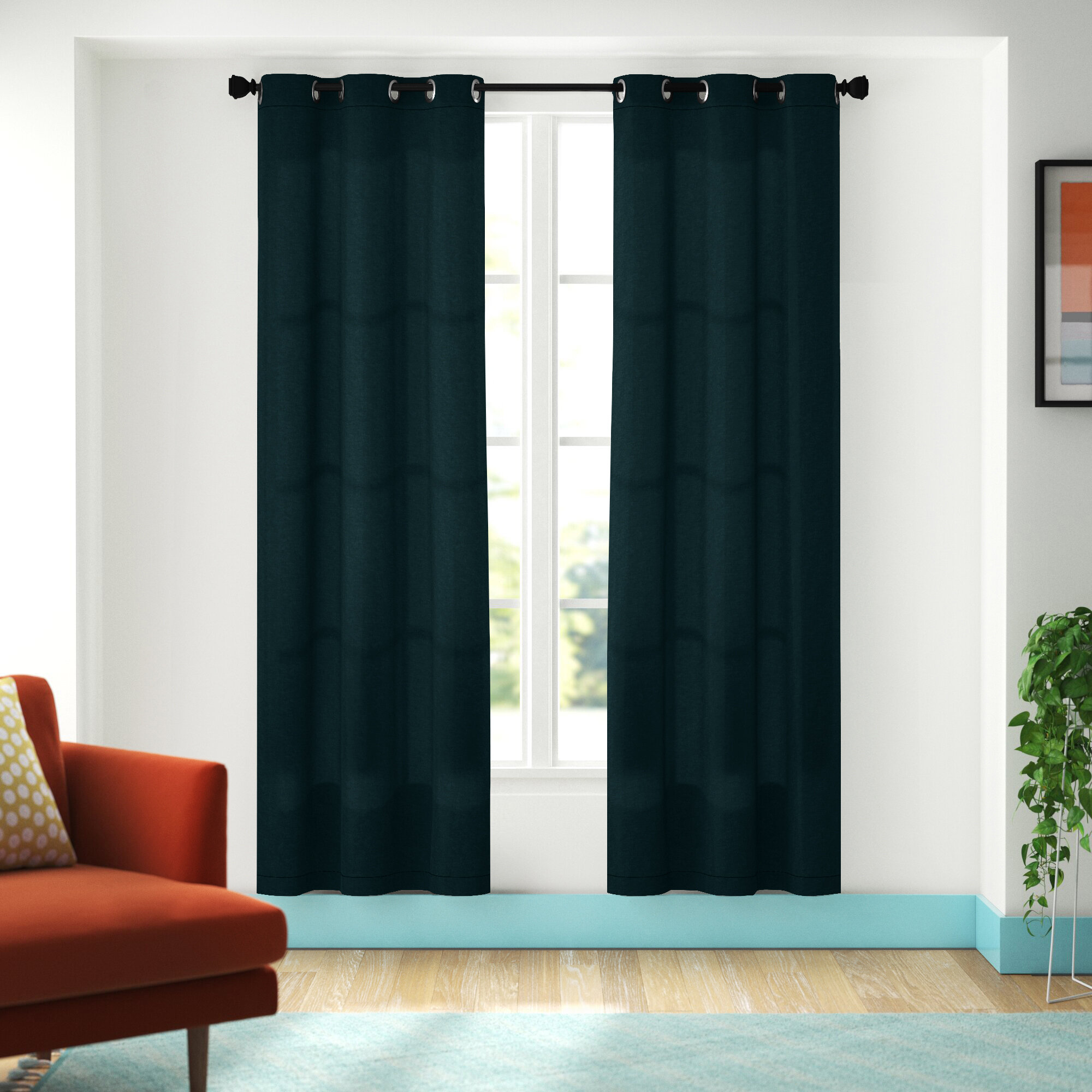 Bedroom Curtains Drapes Free Shipping Over 35 Wayfair