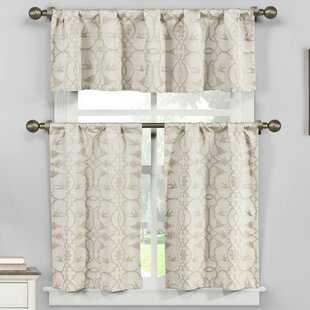 Westervelt 3 Piece Kitchen Curtain Set By Red Barrel Studio