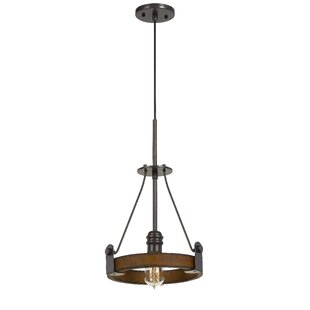 Gracie Oaks Purser 1-Light Geometric Pendant