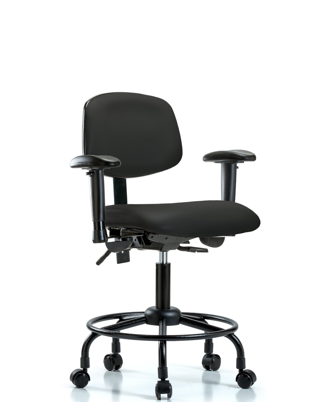 Symple Stuff Ian Ergonomic Drafting Chair Wayfair