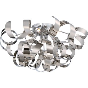 Wade Logan Loredo 5-Light Flush Mount