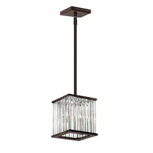 Willa Arlo Interiors Dru 2-Light Crystal Pendant