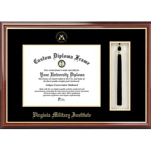 NCAA Virginia Military Institute Tassel Box and Diploma Picture Frame By Campus Images