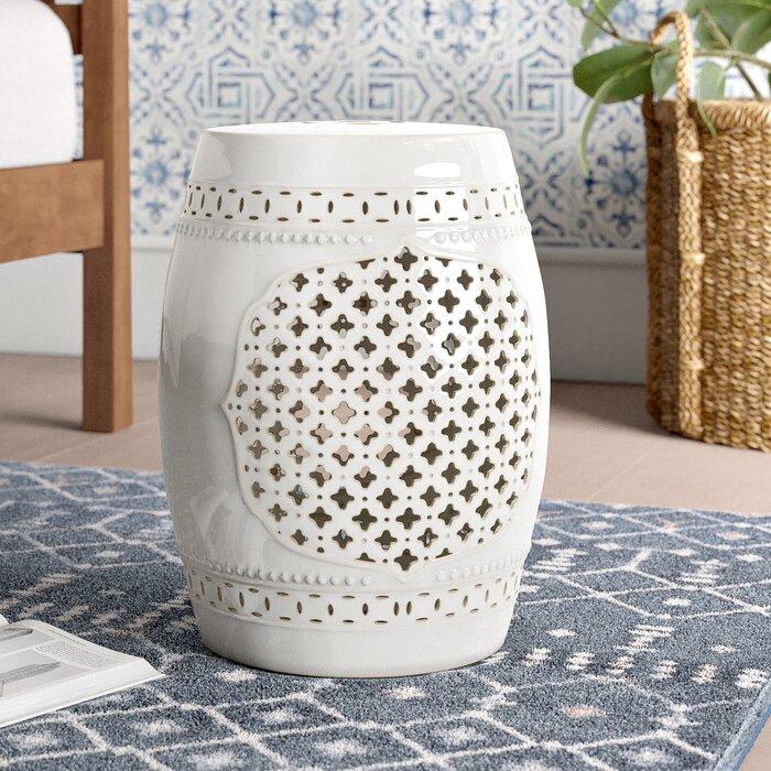 Incredible Hitton Garden Stool Machost Co Dining Chair Design Ideas Machostcouk