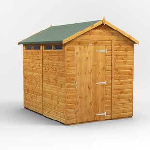 6 Ft. W X 8 Ft. D Solid Wood Garden Shed By WFX Utility