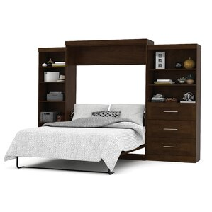 Rudolph Queen Murphy Bed by Latitude Run