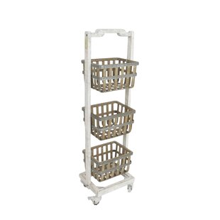 Three Tier Metal Storage Basket