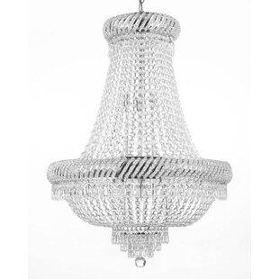 Willa Arlo Interiors Charvi 9-Light Chandelier
