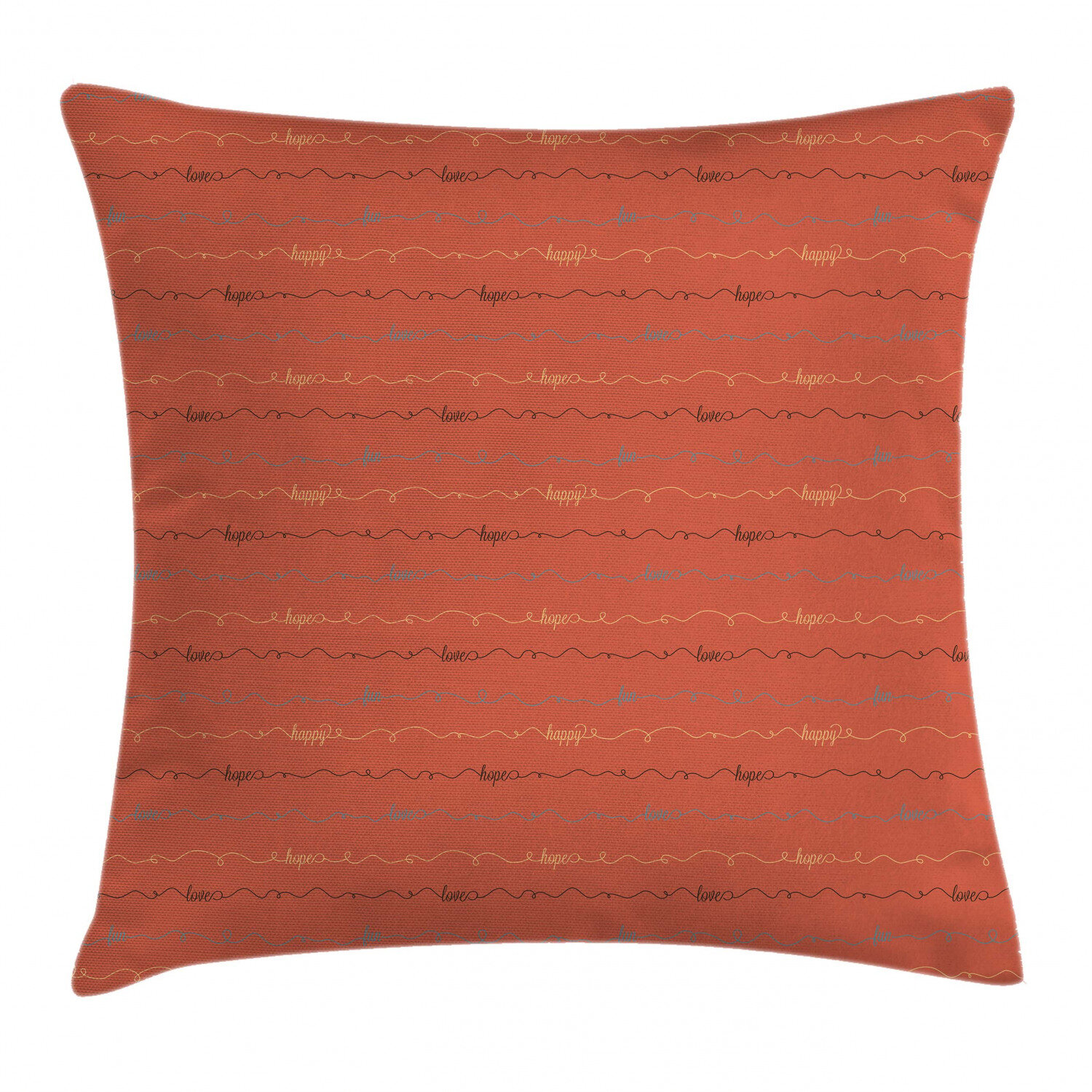 Picture of: East Urban Home Dark Coral Backdrop Image Indoor Outdoor 26 Throw Pillow Cover Wayfair