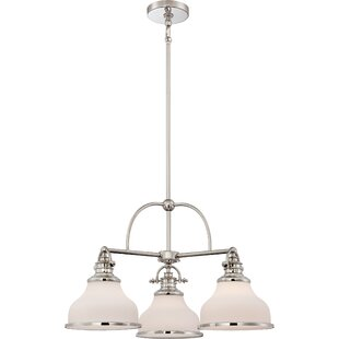 Darby Home Co Attles 3-Light Shaded Chandelier