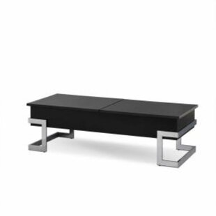 Sharleen Lift Top Extendable Frame Coffee Table With Storage By Ebern Designs