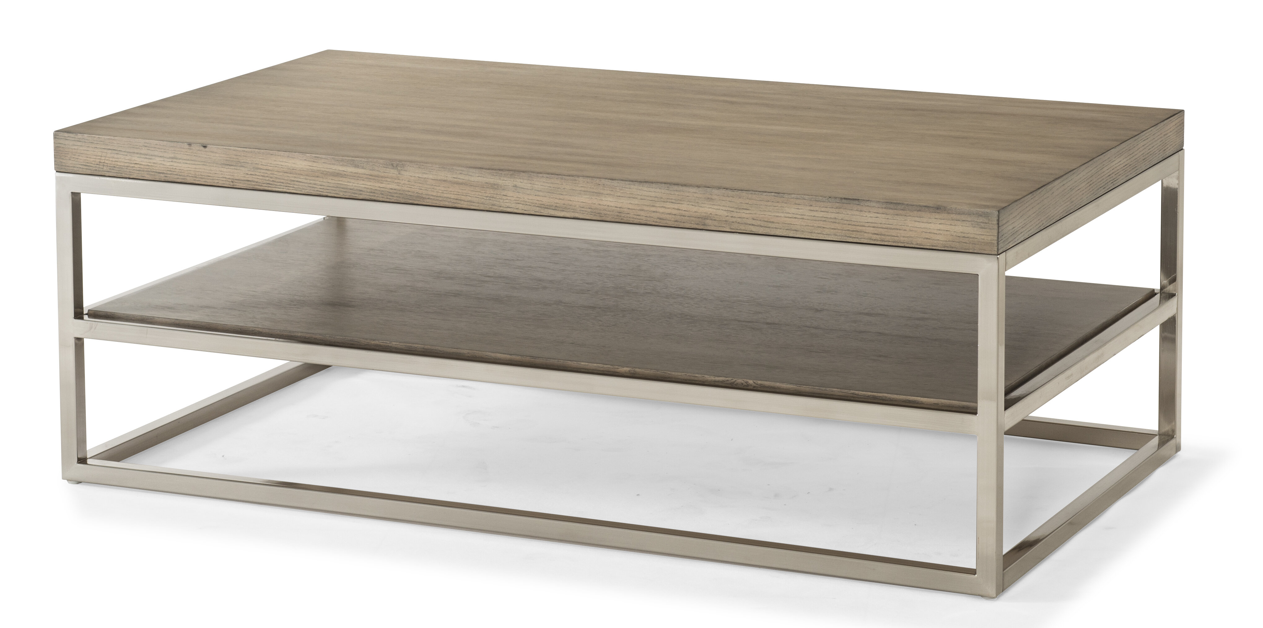 Priester Coffee Table With Magazine Rack