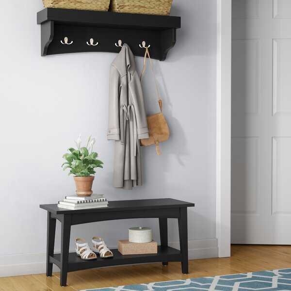 Remodel Your Rooms By Put Corner Storage Bench Entryway Coat Rack Bench | Wayfair