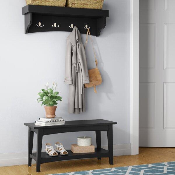 Remodel Your Rooms By Put Corner Storage Bench Entryway Coat Rack Bench | Wayfair