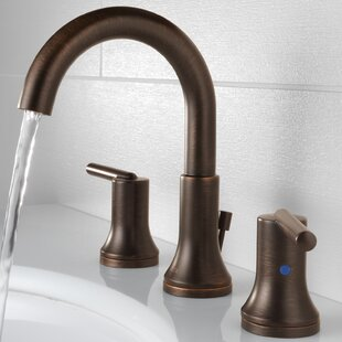 Trinsic® Widespread Bathroom Faucet with Drain Assembly and Diamond Seal Technology
